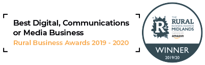 Rural Business Awards 19/20 Best Digital, Communications or Media Business (Midlands)